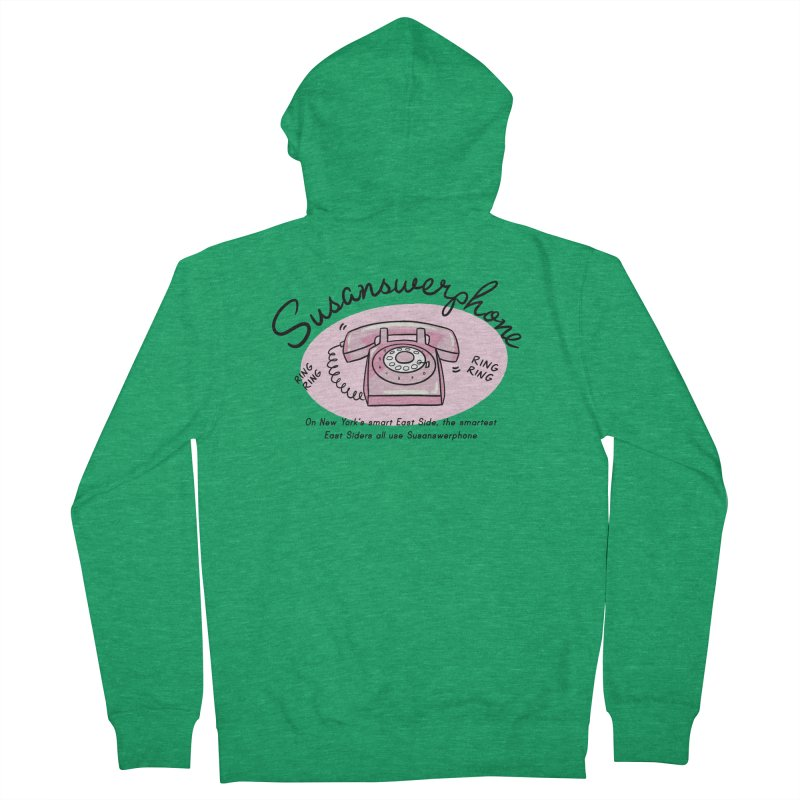 Susanswerphone Men's Zip-Up Hoody by Kate Gabrielle's Threadless Shop