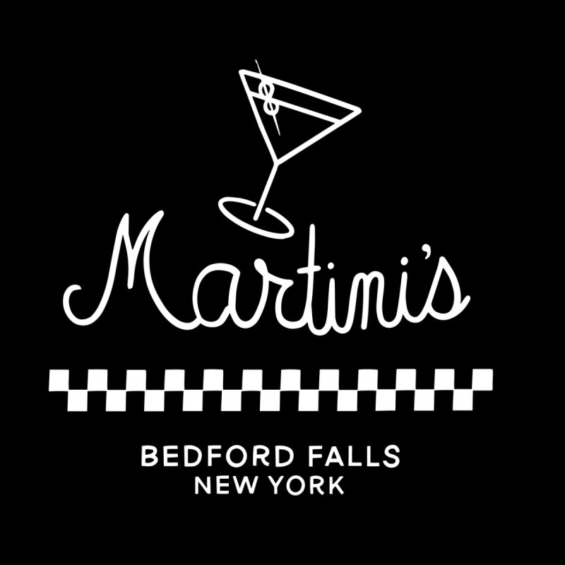 Martini's Home Stretched Canvas by Kate Gabrielle's Threadless Shop
