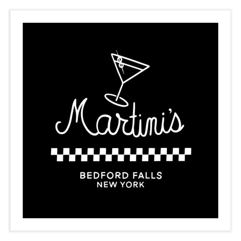 Martini's Home Fine Art Print by Kate Gabrielle's Threadless Shop