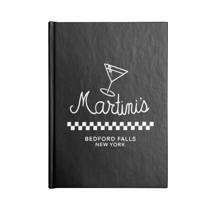 Martini's Accessories Notebook by Kate Gabrielle's Threadless Shop