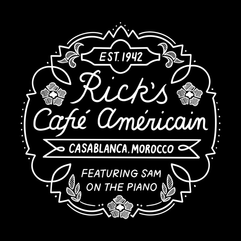 Rick's Cafe Accessories Magnet by Kate Gabrielle's Threadless Shop