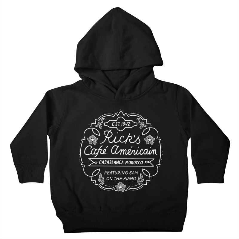 Rick's Cafe Kids Toddler Pullover Hoody by Kate Gabrielle's Threadless Shop