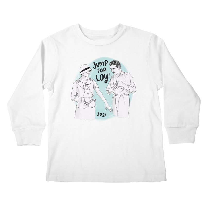 Jump for Loy! Kids Longsleeve T-Shirt by Kate Gabrielle's Threadless Shop