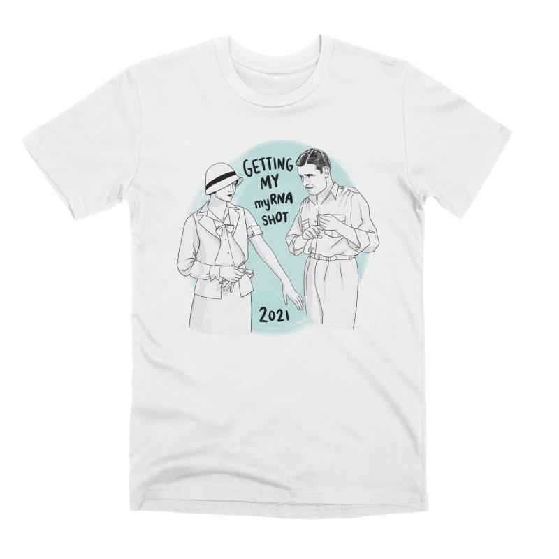 Getting my myRNA shot Men's T-Shirt by Kate Gabrielle's Threadless Shop