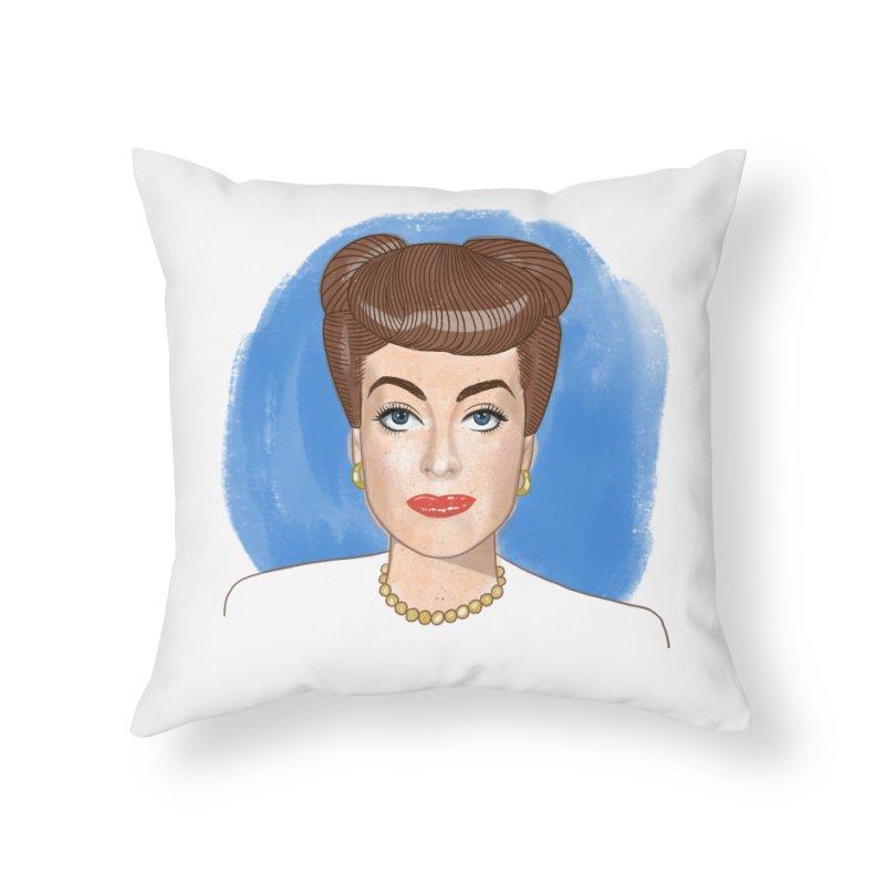Joanie Home Throw Pillow by Kate Gabrielle's Threadless Shop