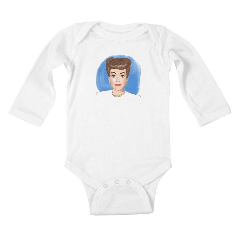 Joanie Kids Baby Longsleeve Bodysuit by Kate Gabrielle's Threadless Shop