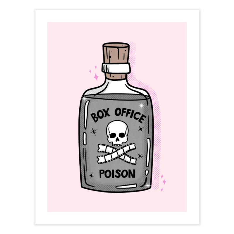 Box office poison Home Fine Art Print by Kate Gabrielle's Threadless Shop