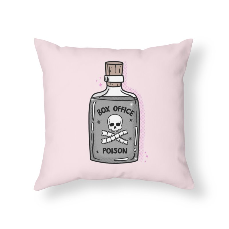 Box office poison Home Throw Pillow by Kate Gabrielle's Threadless Shop