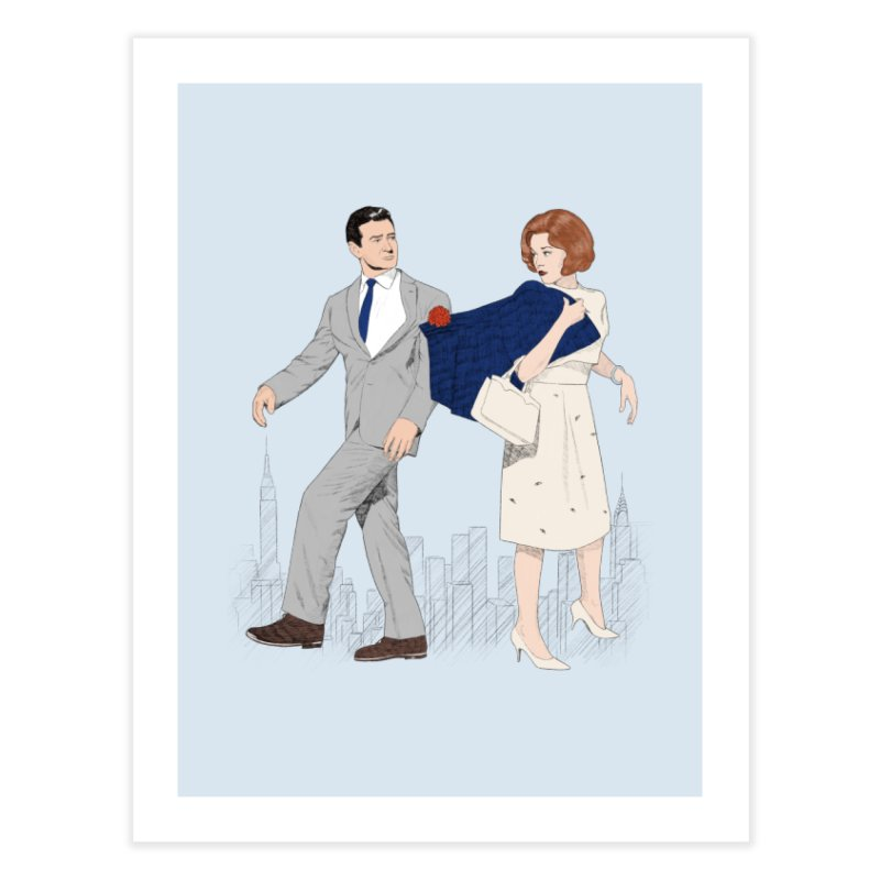 Sunday in New York Home Fine Art Print by Kate Gabrielle's Threadless Shop