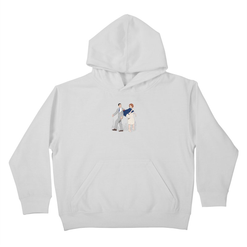 Sunday in New York Kids Pullover Hoody by Kate Gabrielle's Threadless Shop