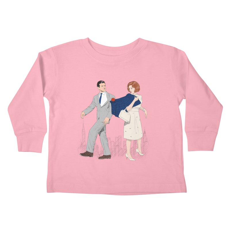 Sunday in New York Kids Toddler Longsleeve T-Shirt by Kate Gabrielle's Threadless Shop