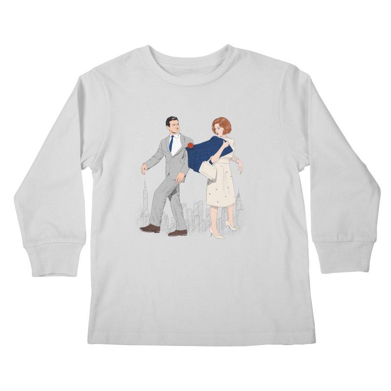 Sunday in New York Kids Longsleeve T-Shirt by Kate Gabrielle's Threadless Shop