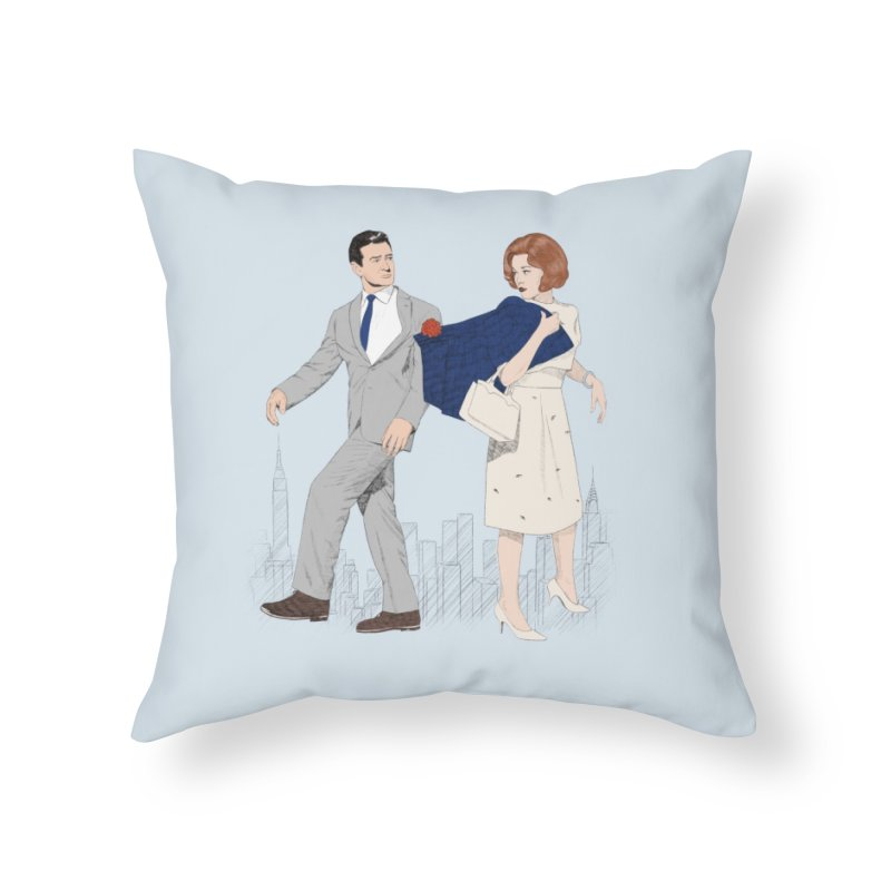 Sunday in New York Home Throw Pillow by Kate Gabrielle's Threadless Shop
