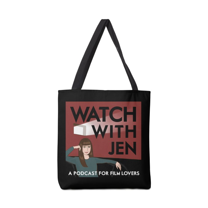 Watch With Jen Accessories Bag by Kate Gabrielle's Threadless Shop