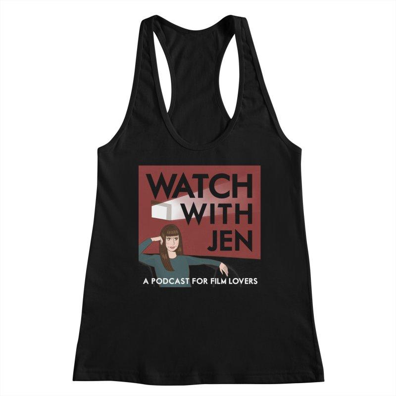 Watch With Jen Women's Tank by Kate Gabrielle's Threadless Shop