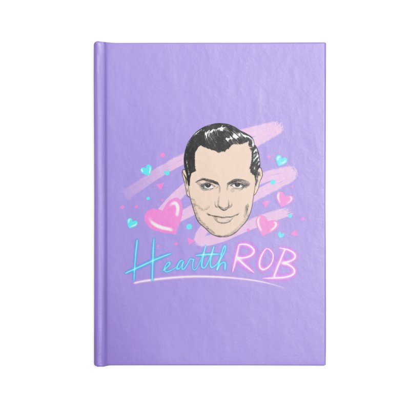 HeartthROB Montgomery Accessories Notebook by Kate Gabrielle's Threadless Shop