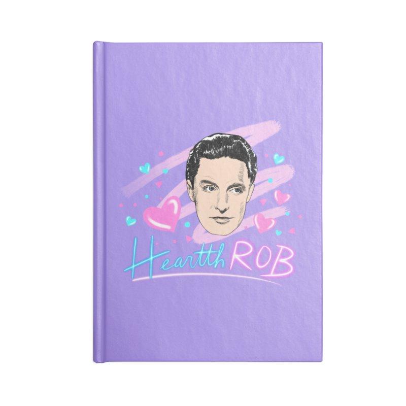 HeartthROB Donat Accessories Notebook by Kate Gabrielle's Threadless Shop