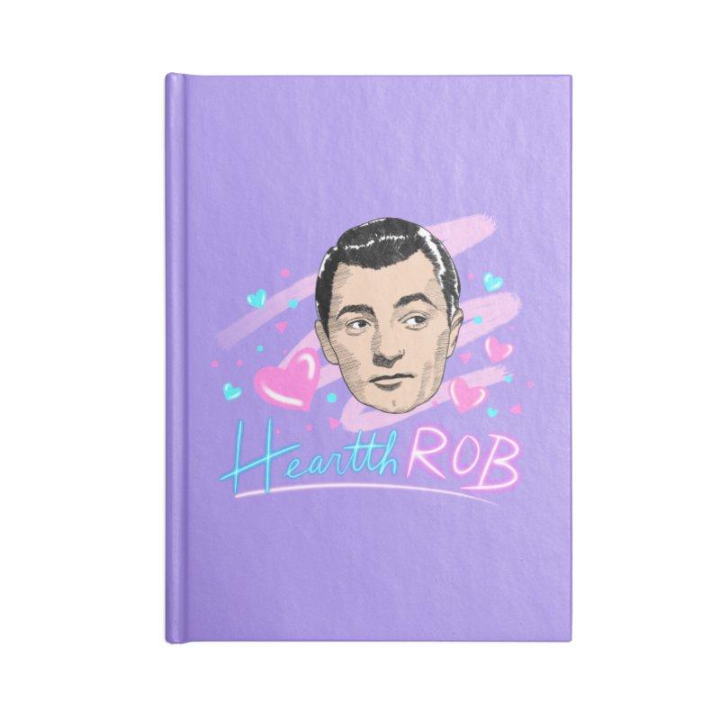 HeartthROB Mitchum Accessories Notebook by Kate Gabrielle's Threadless Shop