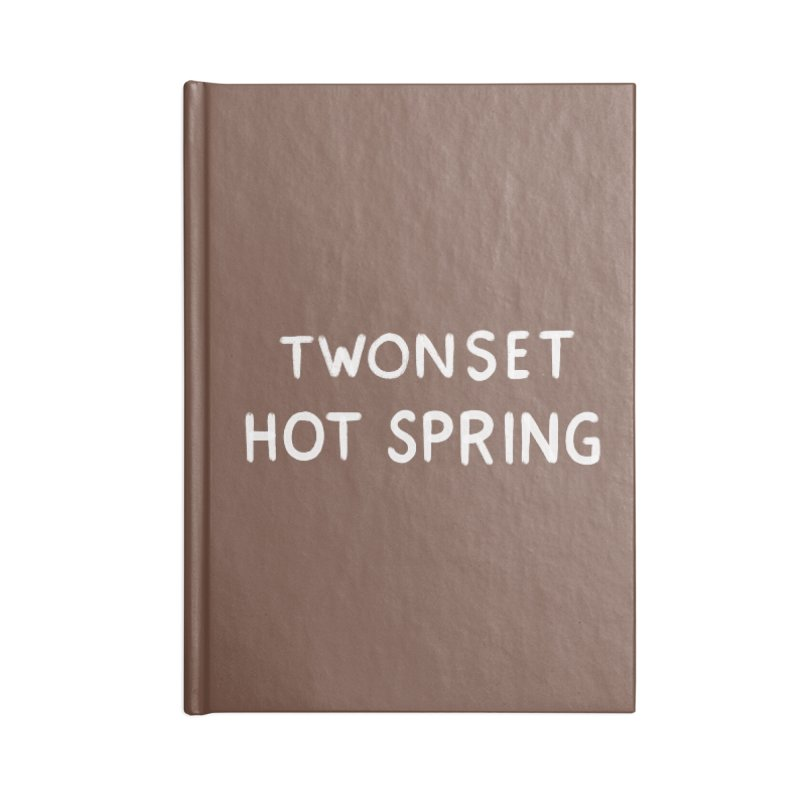 Twonset Hot Spring Accessories Notebook by Kate Gabrielle's Threadless Shop