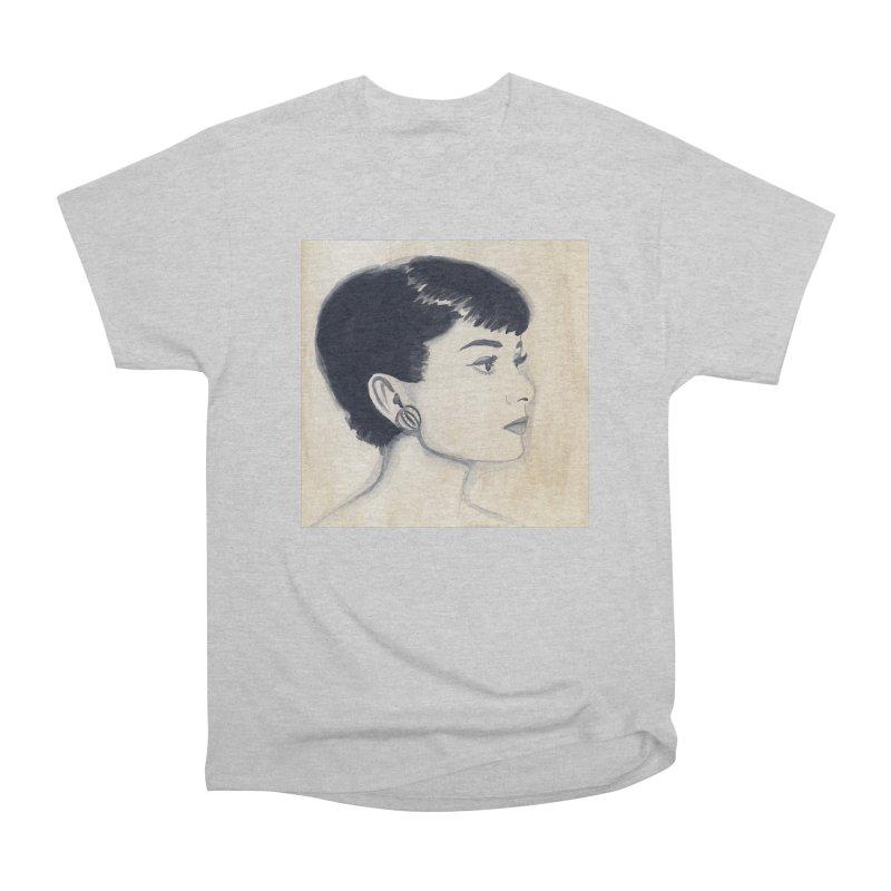 Audrey watercolor Men's T-Shirt by Kate Gabrielle's Threadless Shop