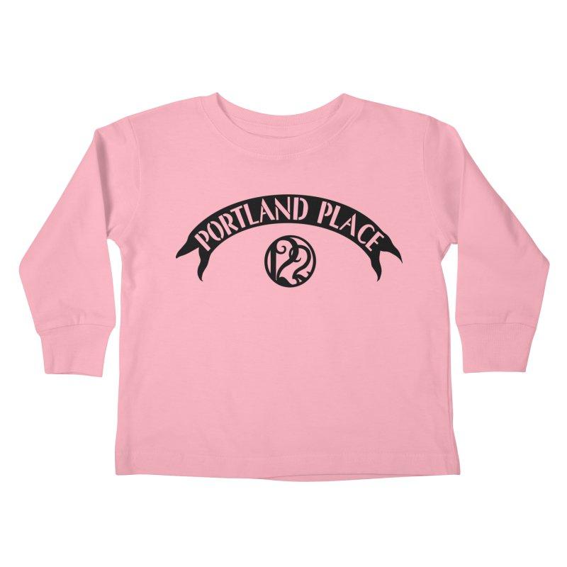 Portland Place Kids Toddler Longsleeve T-Shirt by Kate Gabrielle's Threadless Shop