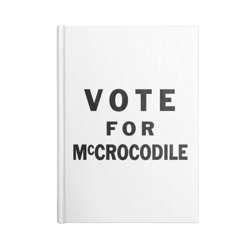 Vote for McCrocodile Accessories Notebook by Kate Gabrielle's Threadless Shop