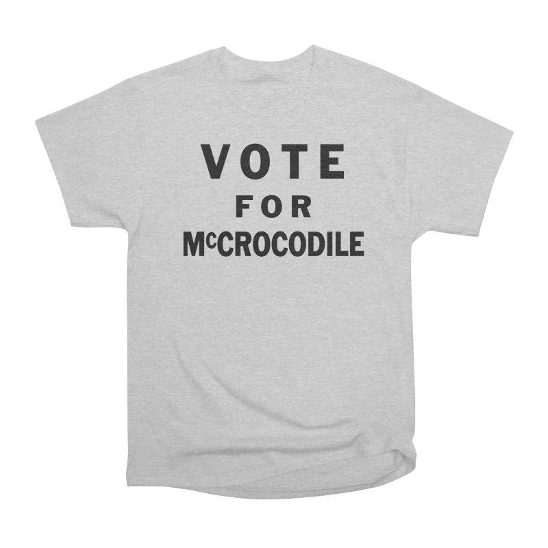 Vote for McCrocodile Men's T-Shirt by Kate Gabrielle's Threadless Shop