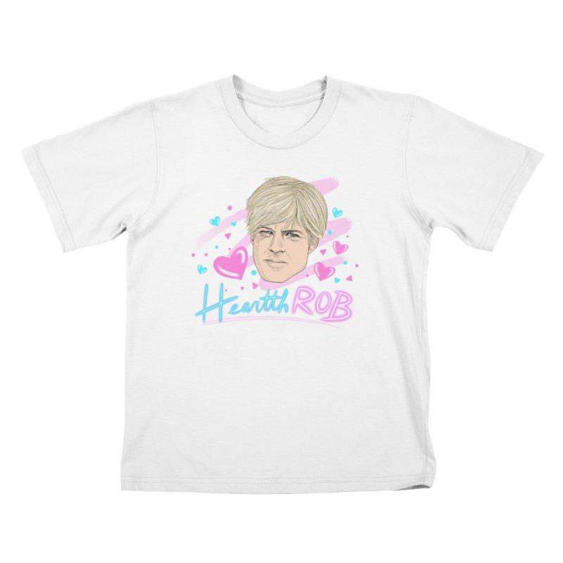 HeartthROB Redford Kids T-Shirt by Kate Gabrielle's Threadless Shop