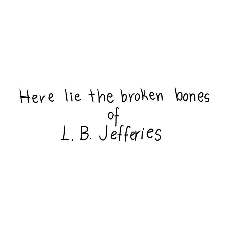 Here lie the broken bones of L.B. Jefferies Kids Toddler Longsleeve T-Shirt by Kate Gabrielle's Threadless Shop