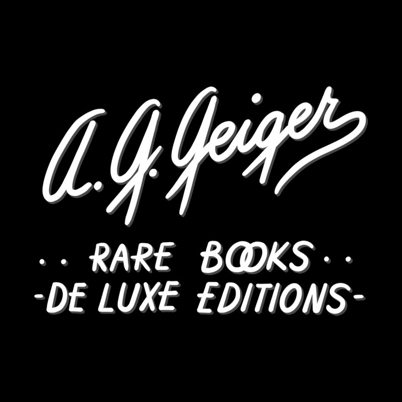 A. G. Geiger Rare Books Men's Pullover Hoody by Kate Gabrielle's Threadless Shop