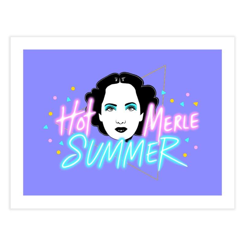 Hot Merle Summer Home Fine Art Print by Kate Gabrielle's Threadless Shop