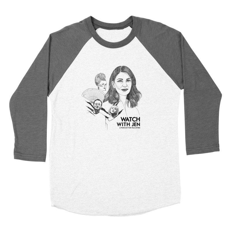 Watch With Jen Women's Longsleeve T-Shirt by Kate Gabrielle's Threadless Shop