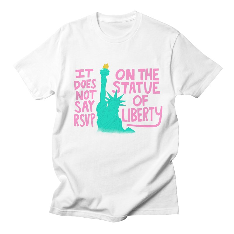 Statue of Liberty Men's T-Shirt by Kate Gabrielle's Threadless Shop