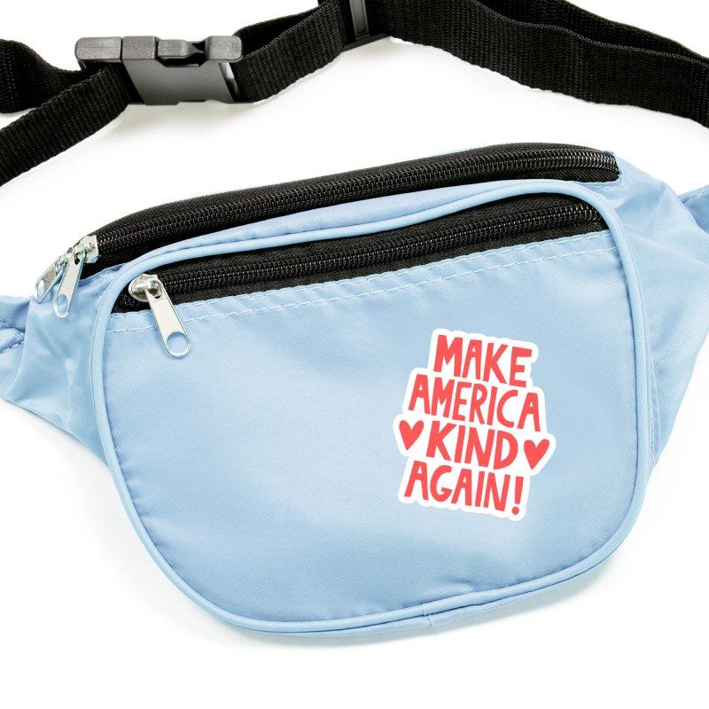 Make America kind again Accessories Sticker by Kate Gabrielle's Threadless Shop