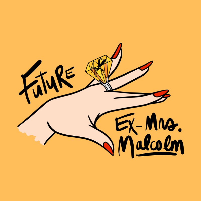 Future Ex-Mrs. Malcolm Men's V-Neck by Kate Gabrielle's Threadless Shop