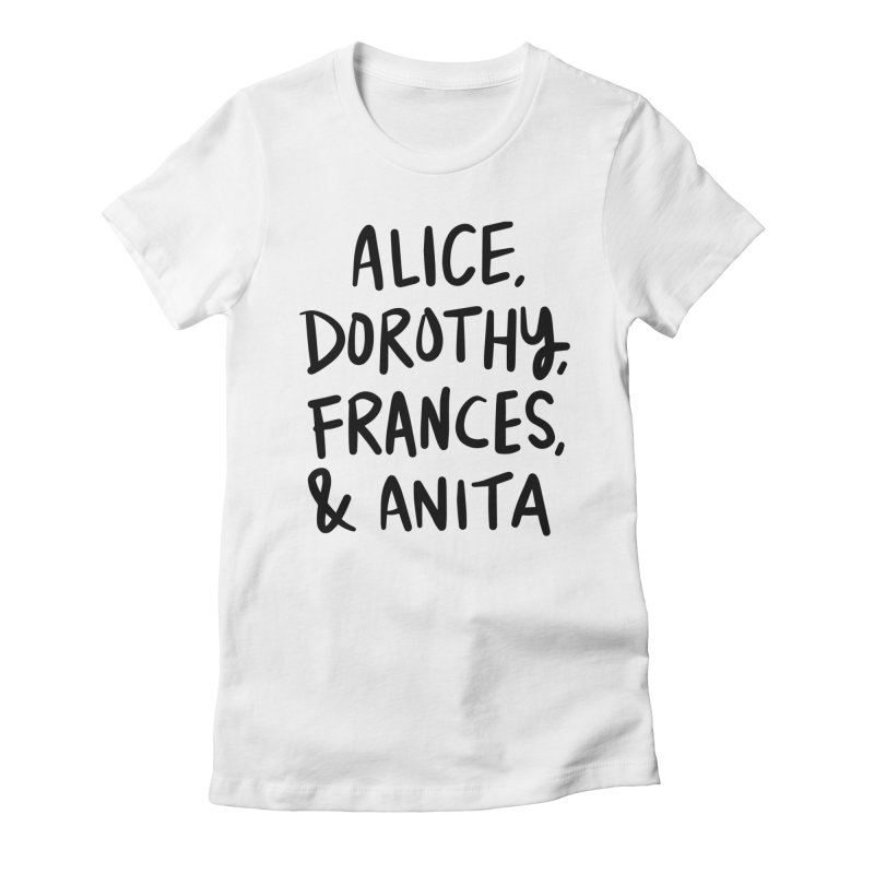 Female film pioneers Women's T-Shirt by Kate Gabrielle's Threadless Shop