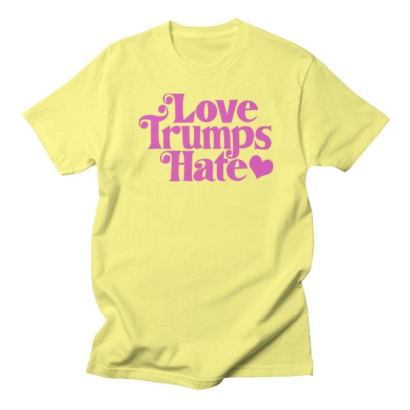 Love trumps hate Men's T-Shirt by Kate Gabrielle's Threadless Shop