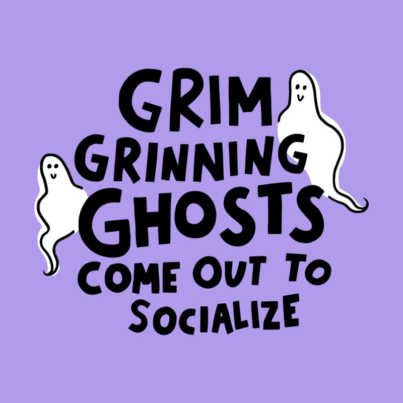 Grim grinning ghosts by Kate Gabrielle's Threadless Shop