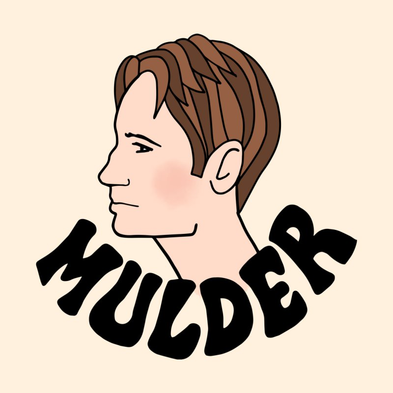 Fox Mulder by Kate Gabrielle's Artist Shop