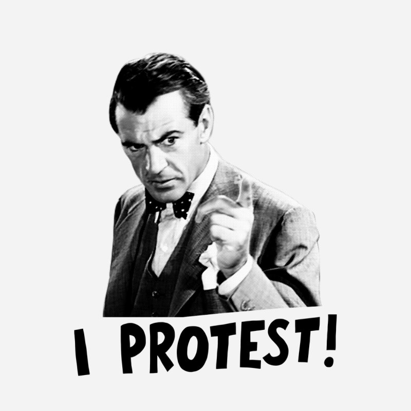 I protest! by Kate Gabrielle's Artist Shop