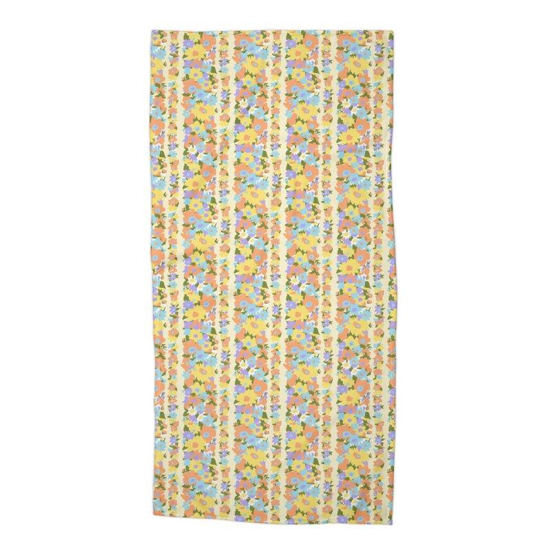 Vintage #20 Accessories Beach Towel by Kate Gabrielle's Artist Shop