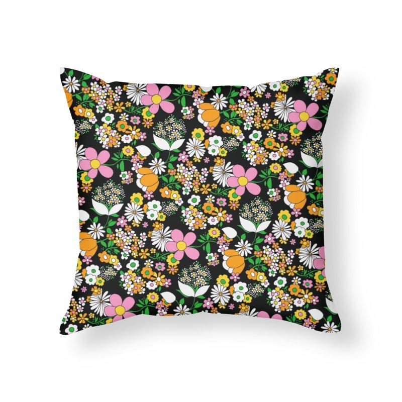 Vintage #25 Home Throw Pillow by Kate Gabrielle's Threadless Shop