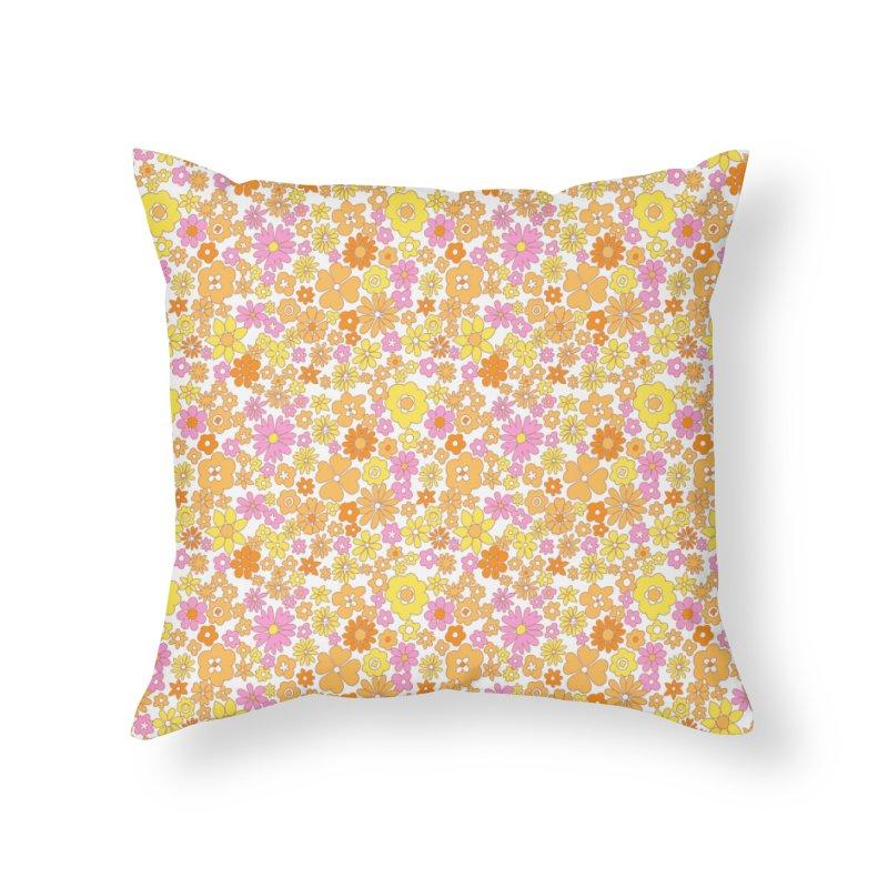Vintage #26 Home Throw Pillow by Kate Gabrielle's Threadless Shop