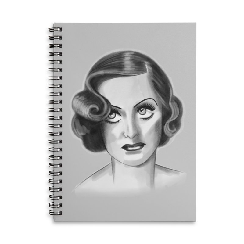 Joan Accessories Lined Spiral Notebook by Kate Gabrielle's Threadless Shop