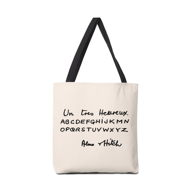 Hitchcock Noel Accessories Bag by Kate Gabrielle's Artist Shop