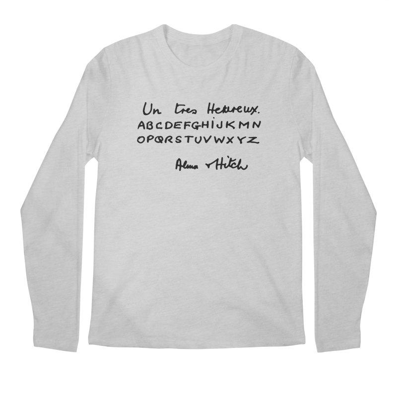 Hitchcock Noel Men's Regular Longsleeve T-Shirt by Kate Gabrielle's Artist Shop