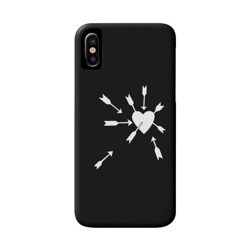 Carefree (black & white) Accessories Phone Case by Kate Gabrielle's Artist Shop
