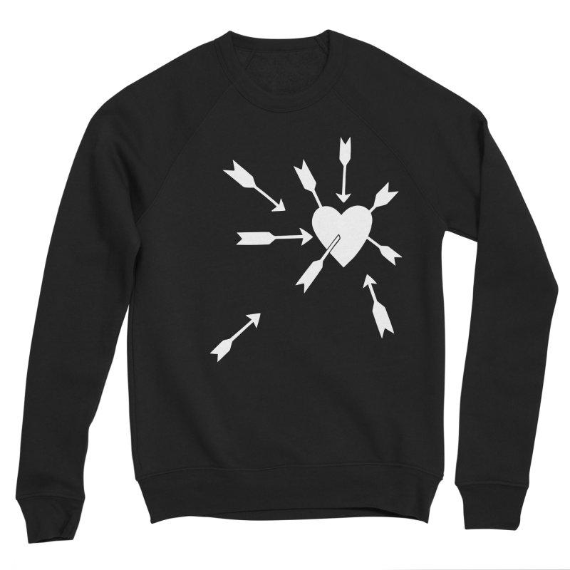 Carefree (black & white) Women's Sponge Fleece Sweatshirt by Kate Gabrielle's Artist Shop