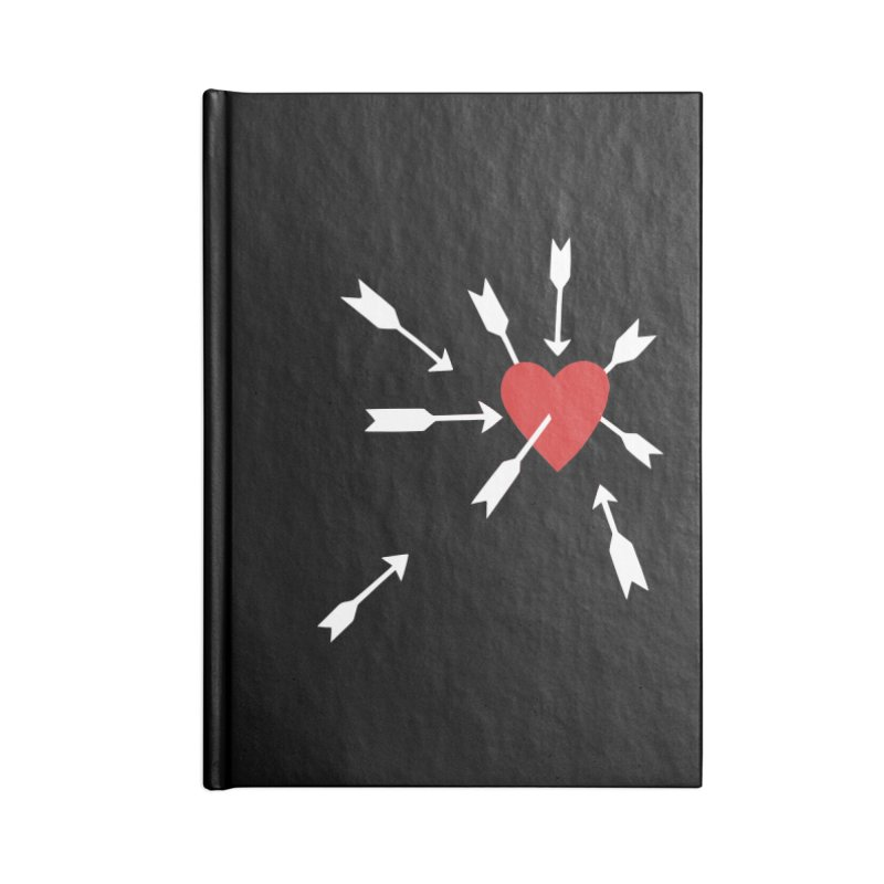 Carefree Accessories Notebook by Kate Gabrielle's Artist Shop
