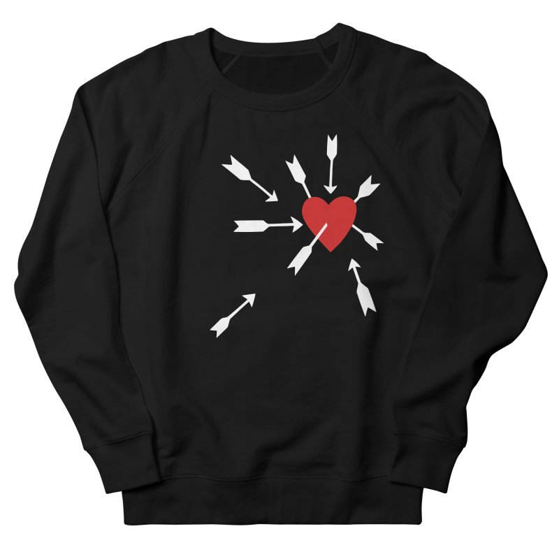 Carefree Men's French Terry Sweatshirt by Kate Gabrielle's Artist Shop